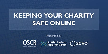 Keeping your charity safe online tickets