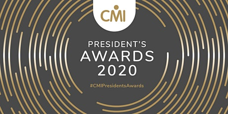 CMI President's Awards 2020 tickets