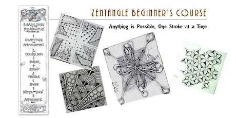 Zentangle®  Essential: Beginners' Course  禅绕画初阶课 (24/10/2020) tickets