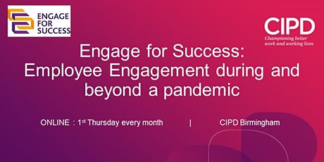 Engage for  Success: Employee Engagement during and beyond a Pandemic tickets