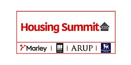 Housing Summit 2020  - Online tickets