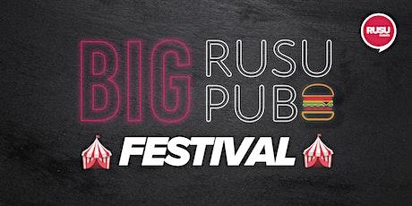 Big RUSU Pub - Festivals tickets