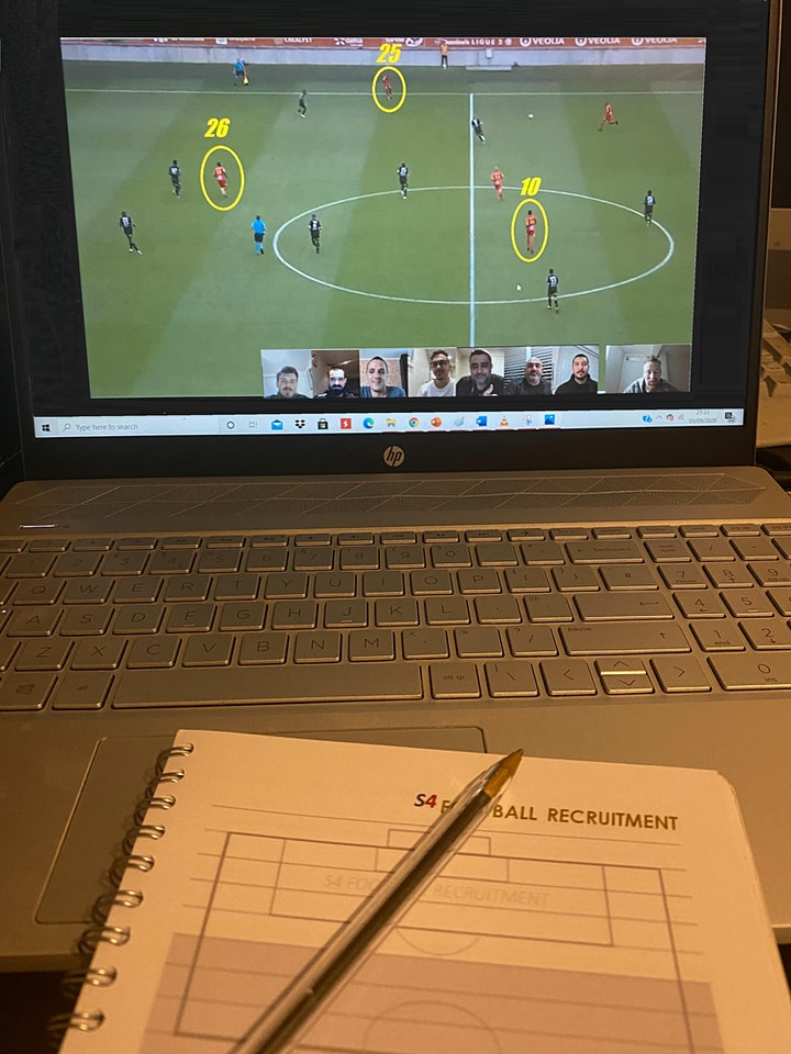 PROFESSIONAL FOOTBALL - RECRUITMENT AND PLAYER SCOUTING WORKSHOP - LEVEL 1 image