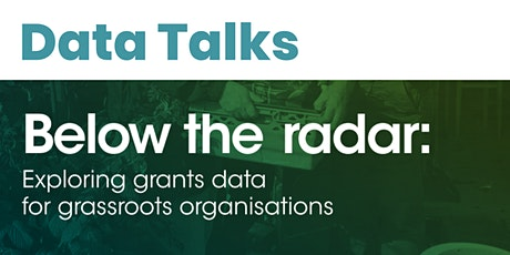 Datawise London - Data Talks: Below the Radar Report