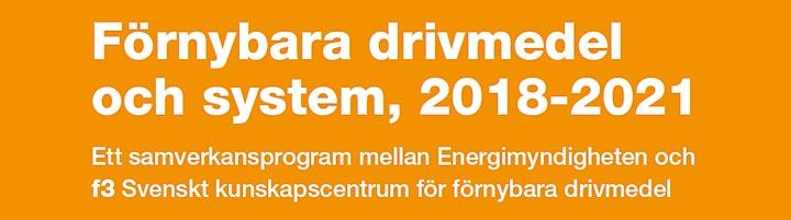 Samverkansprogrammet Förnybara drivmedel och system - Programkonferens 2020 image