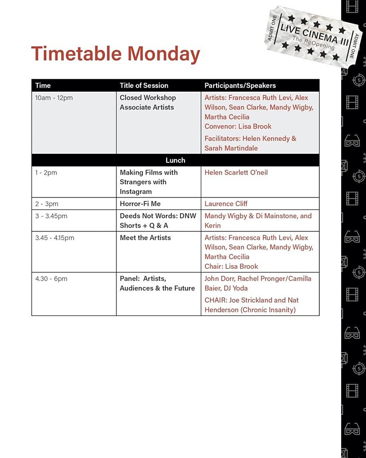Live Cinema III: The ReOpening image