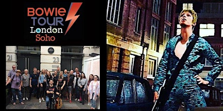 Soho's Original David Bowie Musical Walking Tour tickets