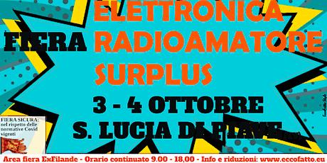Fiera Elettronica, Radioamatore e Surplus S. Lucia di Piave (TV) biglietti