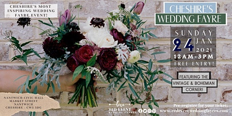 Cheshire's Wedding Fayre Featuring the Bohemian & Vintage Corner tickets