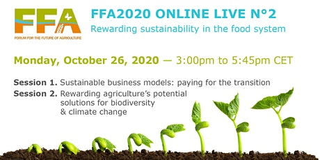 Forum for the Future of Agriculture: Regional Online Live N°2 tickets