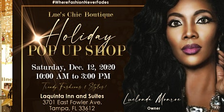 Lue's Chic Boutique Holiday Pop Up Shop tickets