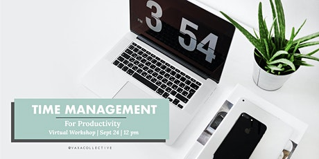 Time Management for Productivity tickets