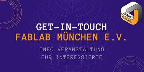 get-in-touch FabLab München e.V. Tickets