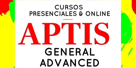 APTIS General y Advanced cursos presenciales y online tickets