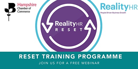 RESET with Reality HR tickets