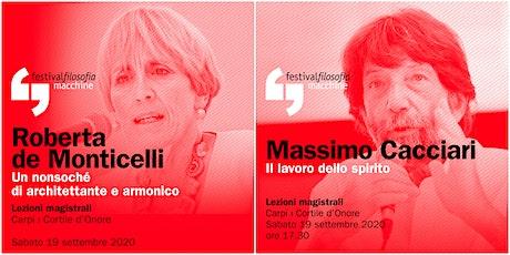 ff20 | DE MONTICELLI - CACCIARI | Carpi, Cortile d'onore biglietti