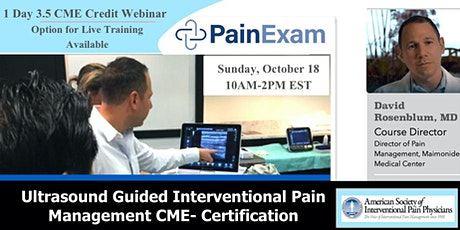 Ultrasound  Guided  Interventional Pain Management tickets