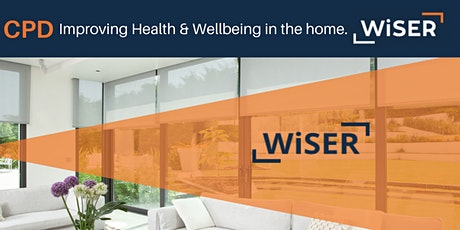 Improving Health & Wellbeing in the home CPD webinar from WiSER tickets