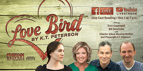 Love Bird by K.T. Peterson, LIVE Cast Reading tickets