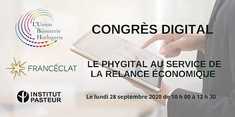 CONGRÈS  UBH  28/09/2020 - LE PHYGITAL AU SERVICE DE LA RELANCE ÉCONOMIQUE billets