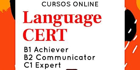 LanguageCert - Cursos online con Salón de idiomas entradas