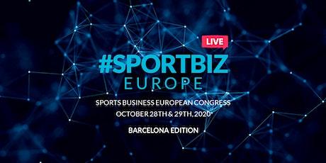 SPORTBIZ EUROPE LIVE - Barcelona Edition tickets