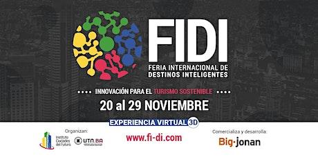 FERIA INTERNACIONAL DE DESTINOS INTELIGENTES / SEMINARIO / WORKSHOP entradas