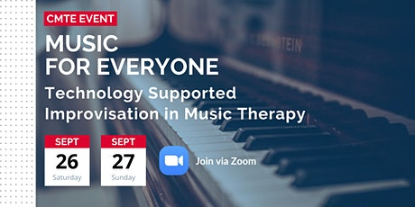 Music for Everyone: Technology Supported Improvisation in Music Therapy tickets