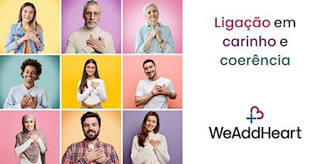 WeAddHeart Lisbon [online] ingressos