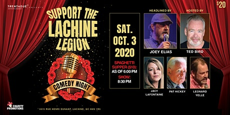 Support the Lachine Legion Comedy Night! Headlined by Joey Elias tickets