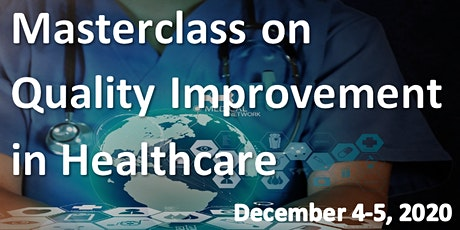 Masterclass: Quality Improvement in Healthcare from Design to Publication tickets