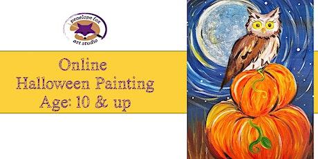 ONLINE - Halloween Painting Tutorial - OWL tickets