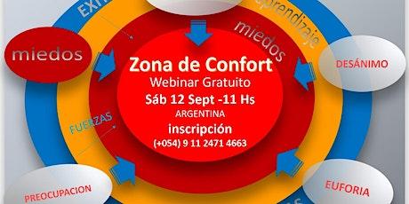 ZONA DE CONFORT- como salir del lugar de confort emocional para superarnos entradas