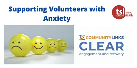 Training for Volunteer Managers - supporting Volunteers with Anxiety tickets