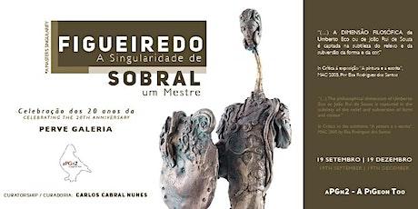 Figueiredo Sobral | Ciclo 20 anos - Perve Galeria bilhetes