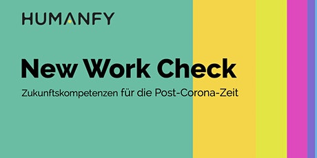 New Work Check - Online-Präsentation Tickets