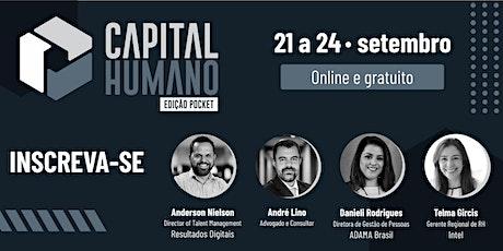 Fórum de Gestão do Capital Humano - Edição Pocket tickets