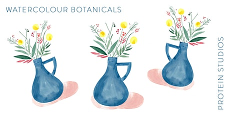 Watercolour Botanicals at Protein Studio tickets