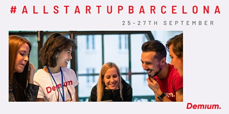 Create your start up from scratch! - #AllStartupBarcelona tickets