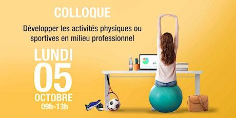 Développer les activités physiques ou sportives en milieu professionnel billets