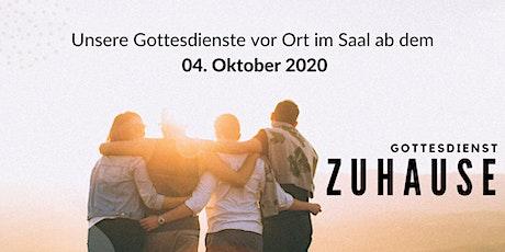 Gottesdienst 04.10.2020 Tickets