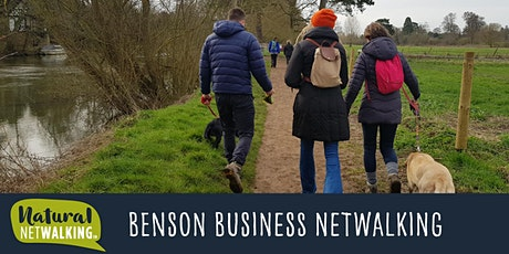Natural Netwalking - Benson, Oxfordshire.  Wed 14th October,  10am -12pm tickets