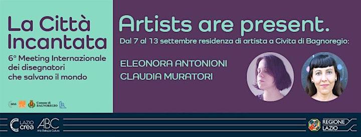 Immagine La Città Incantata - Eleonora Antonioni e Claudia Muratori immaginano mondi