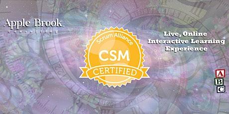 Certified ScrumMaster® (CSM) - Virtual - November 7-8 tickets