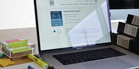 TAC New Media Grant Writing Workshop tickets