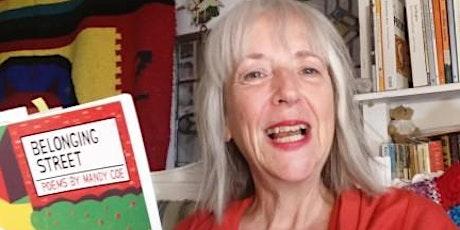 'Mandy Coe 'Belonging Street' book launch: celebrating children's poetry tickets