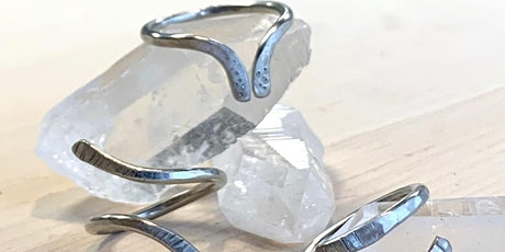 Hammered Ring Workshop with The Adorned Studios tickets