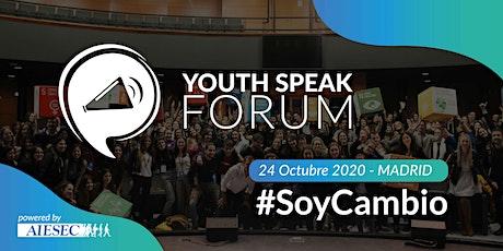 YouthSpeak Forum 2020 entradas