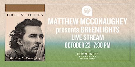 Matthew McConaughey tickets