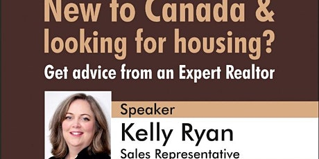 New to Canada - Looking for Housing? tickets